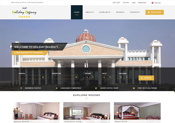 holiday regency moradabad
